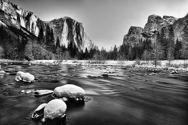 Beautiful Photograph - Yosemite Valley by Peter Dang