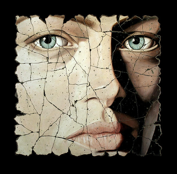 Face Painting - Zara by Steve Bogdanoff