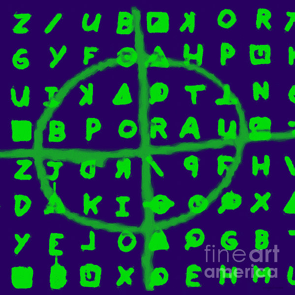 Zodiac Photograph - Zodiac Killer Code And Sign 20130213p128 by Wingsdomain Art and Photography