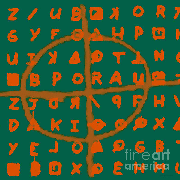 Zodiac Photograph - Zodiac Killer Code And Sign 20130213p28 by Wingsdomain Art and Photography