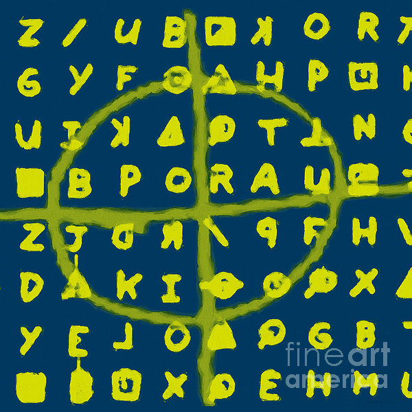 Zodiac Photograph - Zodiac Killer Code And Sign 20130213p68 by Wingsdomain Art and Photography