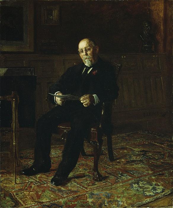 Robert Painting -  Robert M. Lindsay by Thomas Cowperthwait Eakins