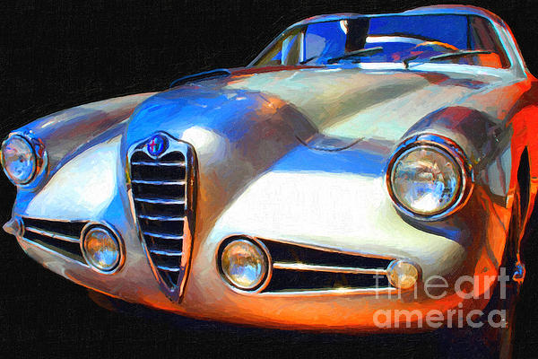 Transportation Photograph - 1955 Alfa Romeo 1900 Ss Zagato by Wingsdomain Art and Photography