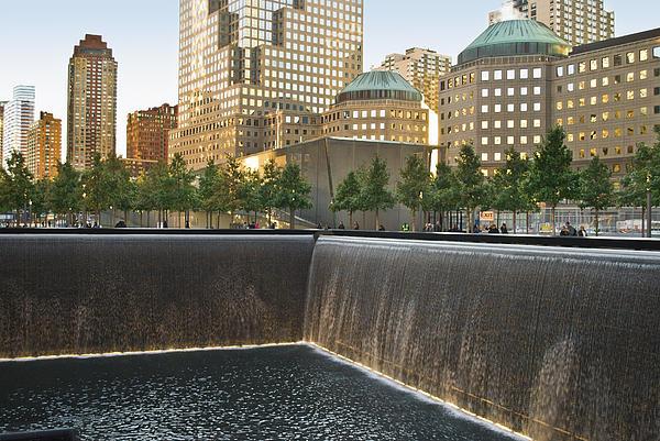 9/11 Memorial Photograph - 911 Memorial Park by Andrew Kazmierski