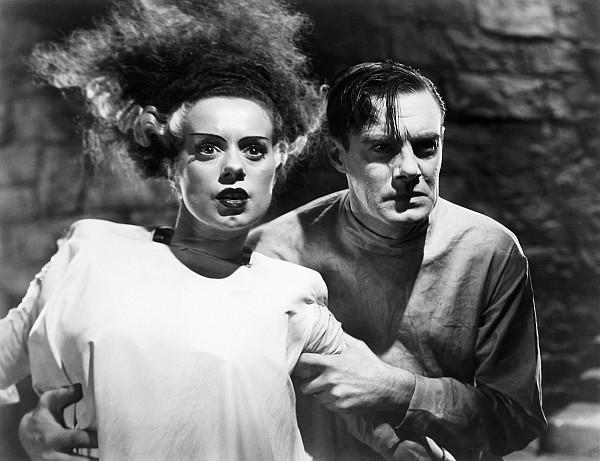 1935 Photograph - Bride Of Frankenstein, 1935 by Granger