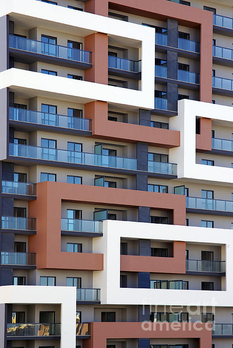 Abstract Photograph - Building Facade by Carlos Caetano