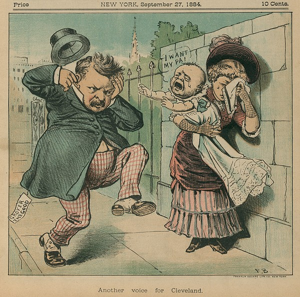 History Photograph - Cartoon Of A Baby Crying Out I Want by Everett