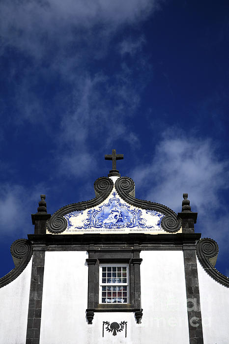 Architecture Photograph - Church In Azores Islands by Gaspar Avila