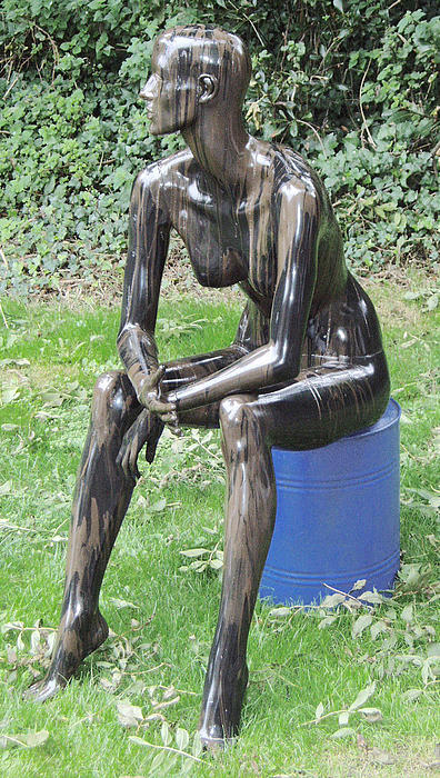 Nude Sculpture - Crude Nude by Robin Beuscher
