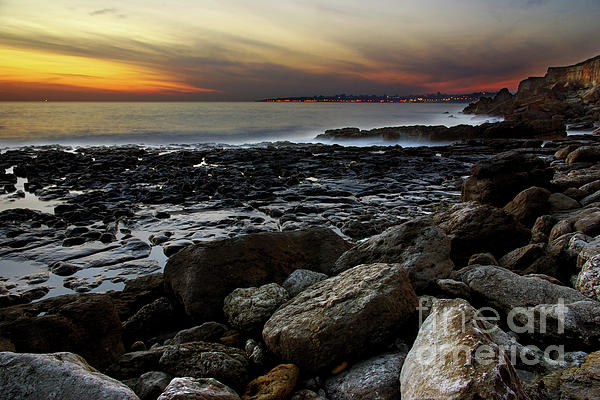 Abstract Photograph - Dramatic Coastline by Carlos Caetano