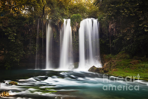 Anatolia Pastel - Duden Waterfalls by Andre Goncalves