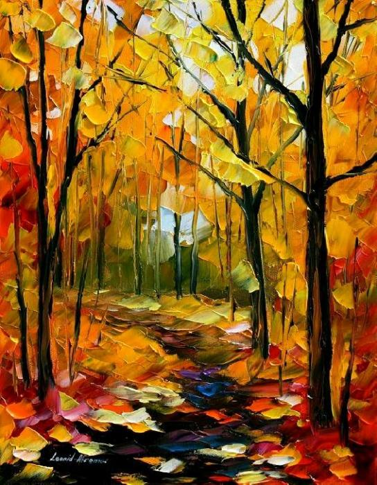 Leonid Afremov - Fall Forest