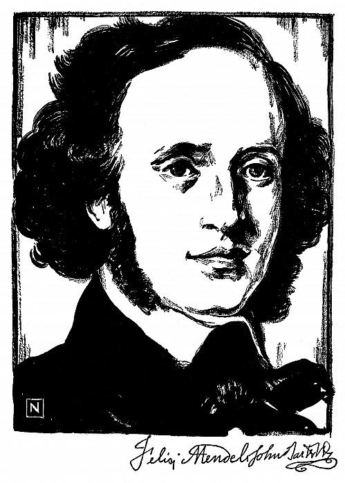 19th Century Photograph - Felix Mendelssohn by Granger