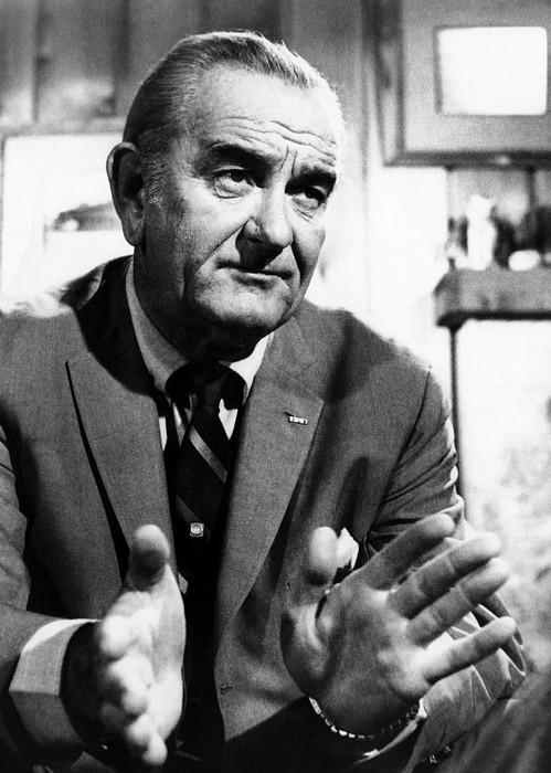 History Photograph - Former President Lyndon Johnson by Everett