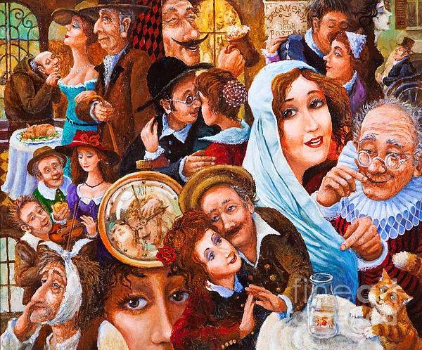 Figurative Painting - In The Eye Of Beholder by Igor Postash