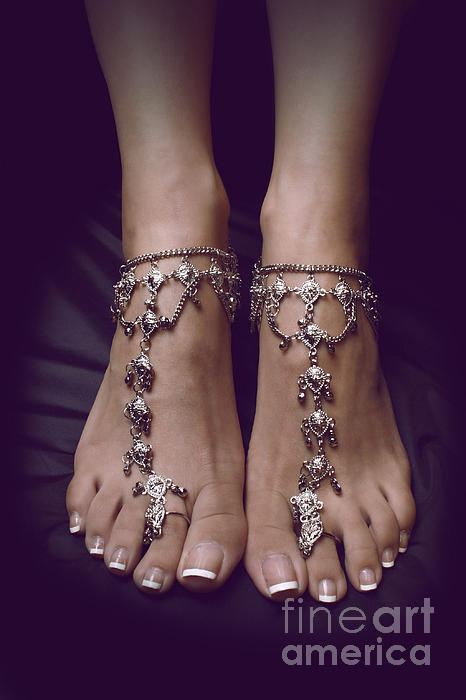 Feet Photograph - Jewels by Tos Photos