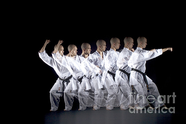 Stroboscopic  - Karate Expert by Ted Kinsman