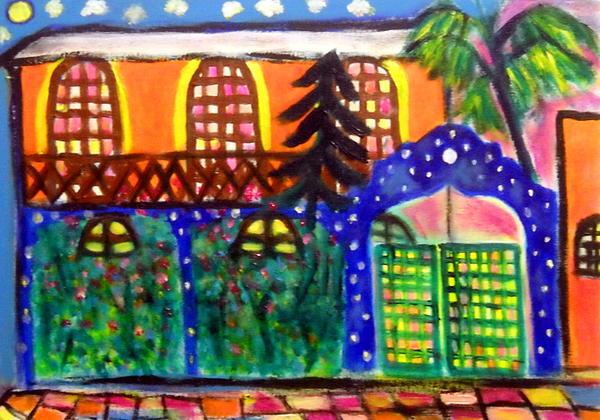 Painting - Larinconada Mi Casa by Ted Hebbler