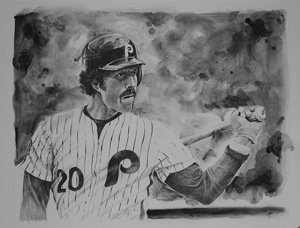 Mike Schmidt Drawing - Michael Jack by Paul Autodore