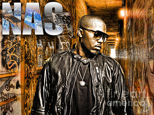 Nas Digital Art - Nas by The DigArtisT
