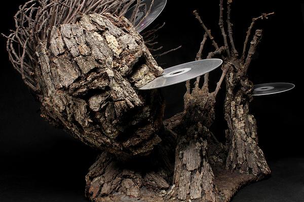Art Sculpture - Net Damage by Adam Long