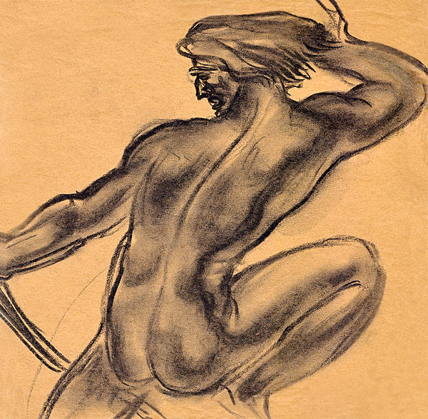 Academical Drawing - Nude Men by Odon Czintos