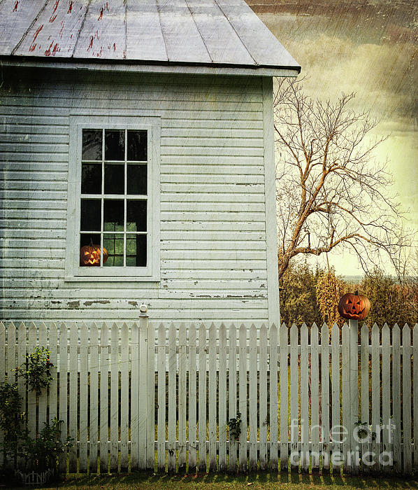 Architecture Photograph - Old Farm  House Window  by Sandra Cunningham