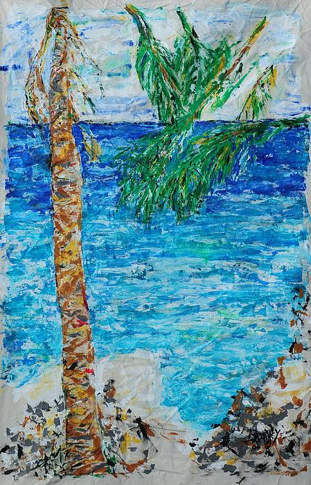 Costa Rica Painting - Palm 06 by Bradley