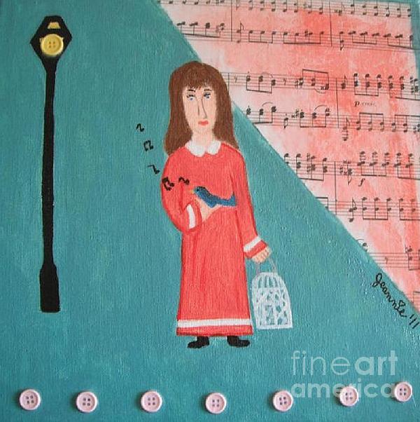 Pardoned Painting - Pardoned by Jeannie Atwater Jordan Allen