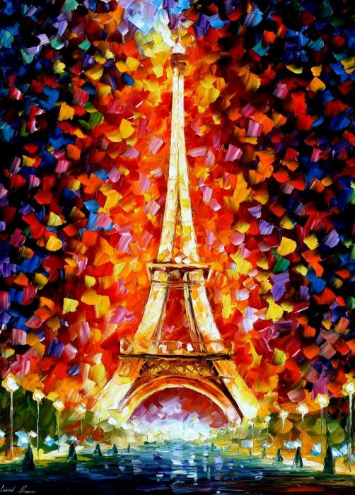Leonid Afremov - Paris Eiffel Tower
