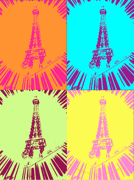 Paris In Vegas Digital Art by Amber Hennessey