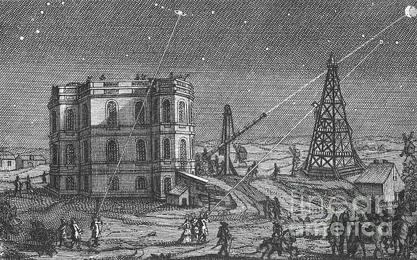 History Photograph - Paris Observatory, 17th Century by Science Source