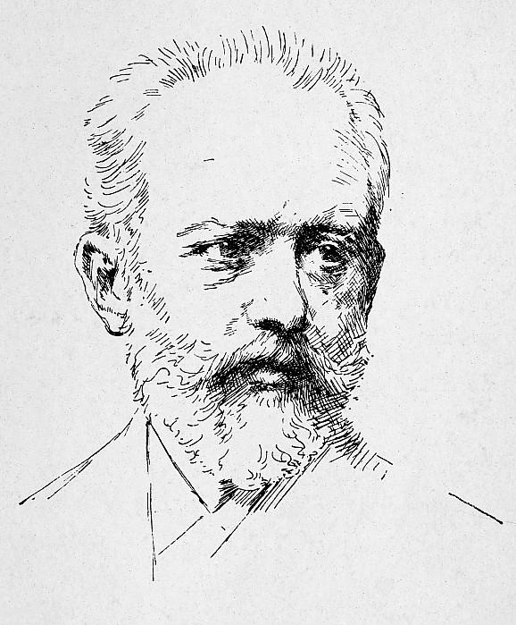 19th Century Photograph - Peter Ilich Tchaikovsky by Granger
