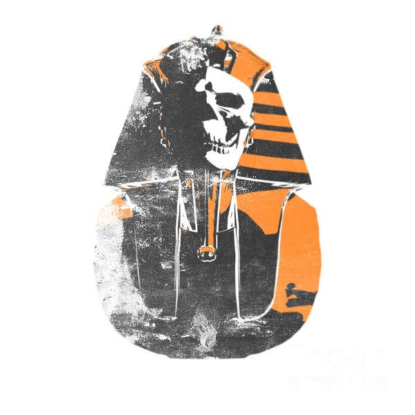 Pharaoh Digital Art - Pharaoh Stencil  by Pixel  Chimp