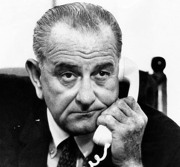 President Lyndon B. Johnson Photograph by Everett