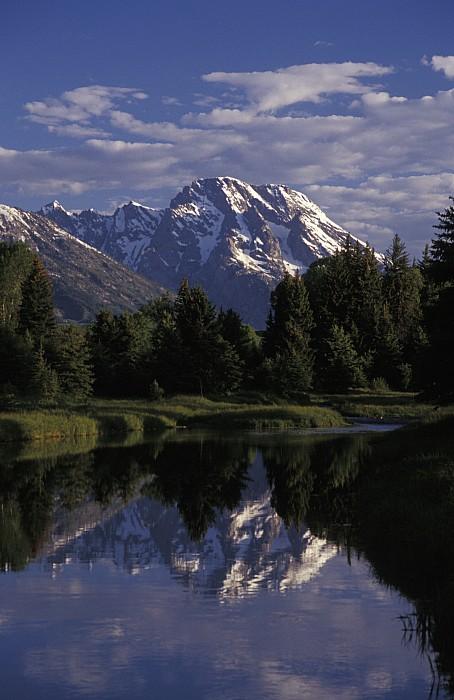 Reflection Photograph - Reflection Of The Teton Mountans by Richard Nowitz