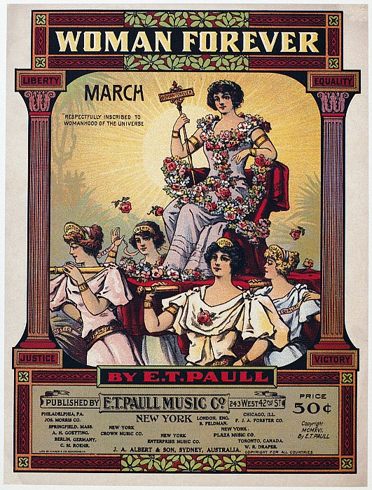 1916 Photograph - Sheet Music Cover, 1916 by Granger
