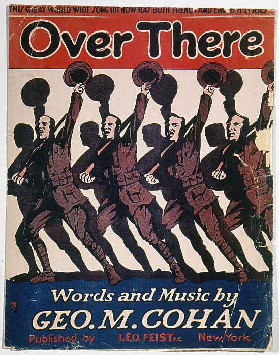 1917 Photograph - Sheet Music Cover, 1917 by Granger