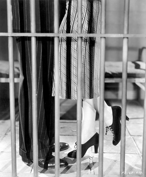 -leggs- Photograph - Silent Film Still: Legs by Granger