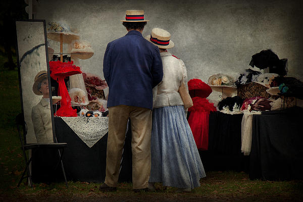 Stand Photograph - Store - The Hat Stand  by Mike Savad