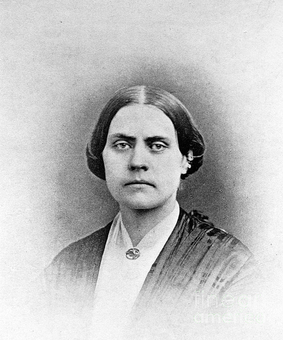 History Photograph - Susan B. Anthony, American Civil Rights by Photo Researchers, Inc.