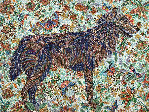 Pet Painting - Tamed by Erika Pochybova