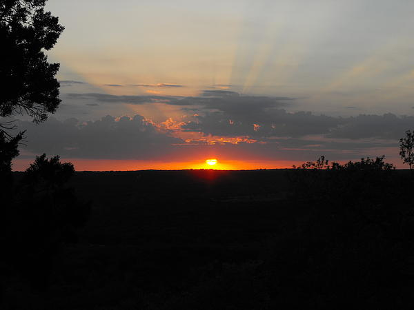 Texas Sunset Photograph - Texas Sunset by Rebecca Cearley