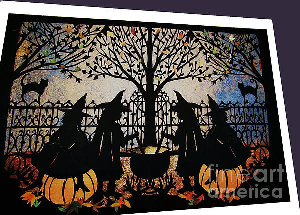 Witches Brew Mixed Media - Witches Brew by Nancy Michalak