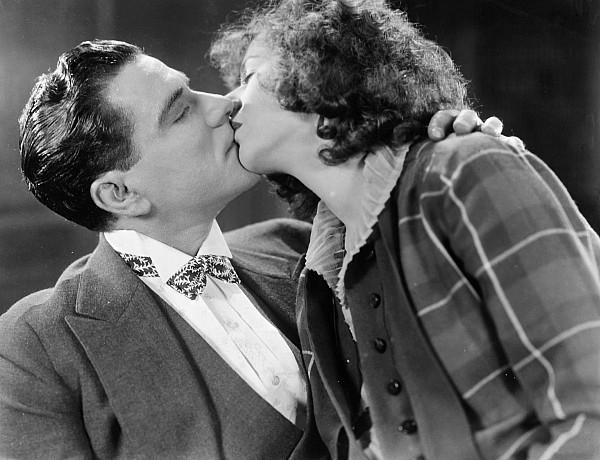 Kiss Photograph - Silent Film Still by Granger