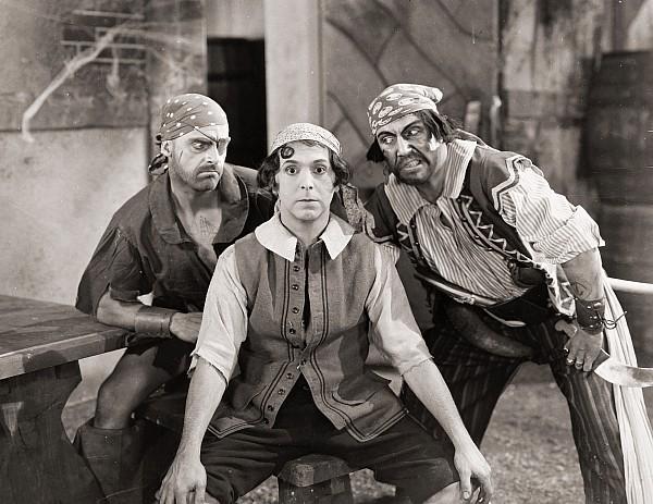 -pirates- Photograph - Silent Film Still: Pirates by Granger