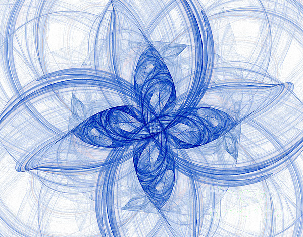 Complex Numbers Photograph - Fractal Image by Ted Kinsman