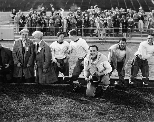 1927 Photograph - Silent Film Still: Sports by Granger