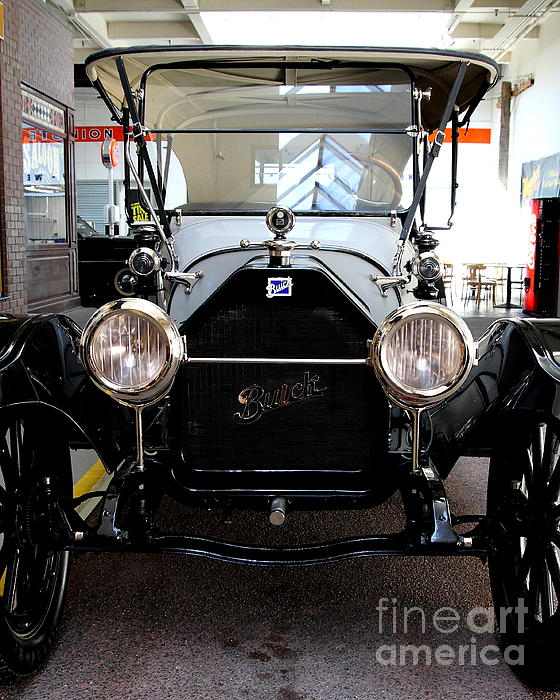 Transportation Photograph - 1914 Buick Touring by Wingsdomain Art and Photography