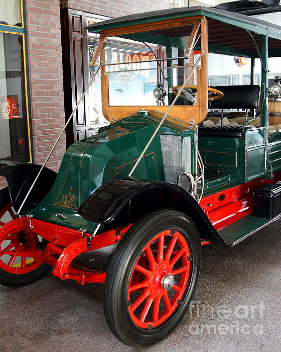 Transportation Photograph - 1914 Lippard Steward E Express by Wingsdomain Art and Photography
